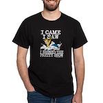 I came, I saw Dark T-Shirt