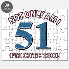 51 birthday design Puzzle