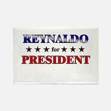 REYNALDO for president Rectangle Magnet