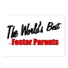 """""""The World's Best Foster Parents"""" Postcards (Packa"""