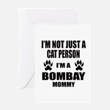 I'm a Bombay Mommy Greeting Card