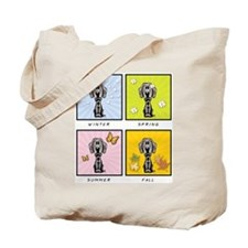 4 Season Weimaraner Tote Bag