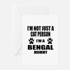 I'm a Bengal Mommy Greeting Cards (Pk of 10)