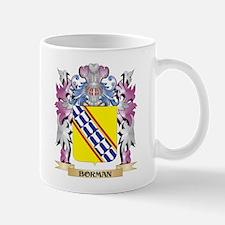 Borman Coat of Arms (Family Crest) Mugs