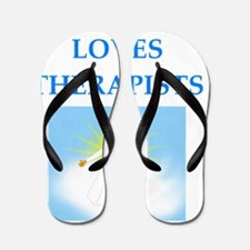 Funny Occupational therapy Flip Flops