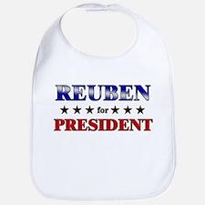 REUBEN for president Bib
