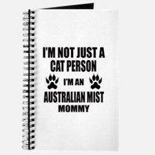 I'm an Australian Mist Mommy Journal