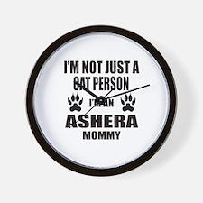 I'm an Ashera Mommy Wall Clock