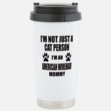 I'm an American Wirehai Travel Mug