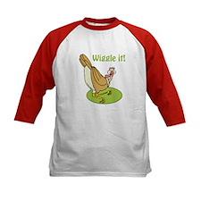 Wiggle It Funny Turkey Tee