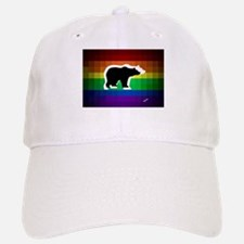 gay rainbow bears art Baseball Baseball Cap