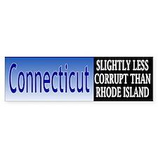 Connecticut Corruption Bumper Bumper Stickers
