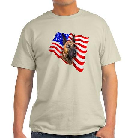 Brindle Patriot Dane Light T-Shirt
