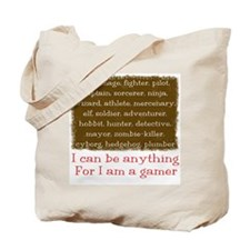 I am a Gamer Tote Bag