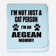 I'm an Aegean Mommy baby blanket