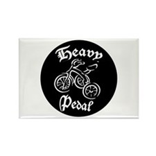 Heavy Pedal Trike Rectangle Magnet