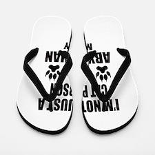 I'm an Abyssinian Mommy Flip Flops