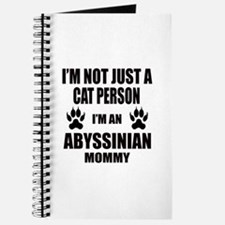 I'm an Abyssinian Mommy Journal