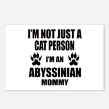 I'm an Abyssinian Mommy Postcards (Package of 8)