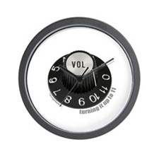 Turning to 11 Wall Clock