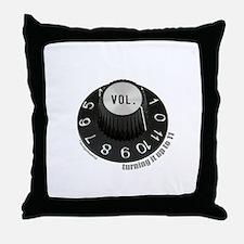 Turning to 11 Throw Pillow