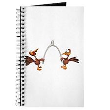 Turkeys Making Wish (Wishbone) Journal