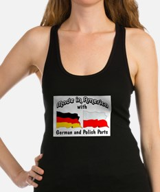 Unique Polish pride Racerback Tank Top
