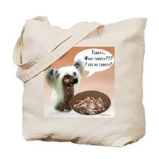 Crested Turkey Tote Bag