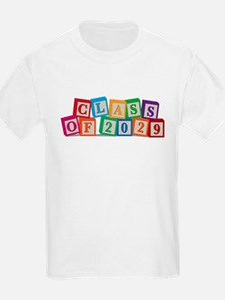 Class of 2029 Blocks T-Shirt