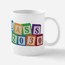 Class of 2030 Blocks Mug