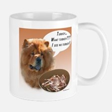 Chow Chow Turkey Mug