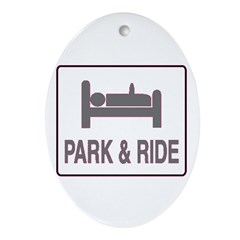 Park and Ride Oval Ornament