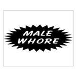 Male Whore Small Poster