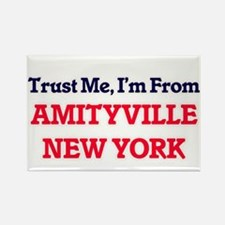 Trust Me, I'm from Amityville New York Magnets