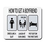 How To Get A Boyfriend Mousepad