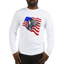 Blue UC Patriot Dane Long Sleeve T-Shirt