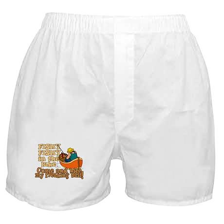 Fishy Fish in the lake Boxer Shorts