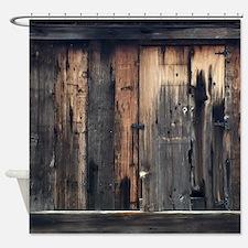 Beautiful Barnwood Shower Curtain