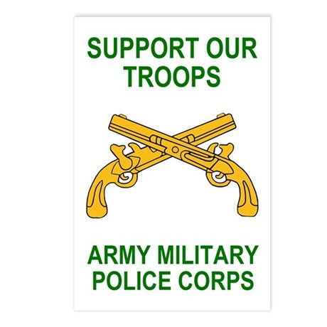 Military Police Corps <BR>Postcard Micro-Posters