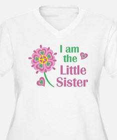 I am the Little Sister Plus Size T-Shirt