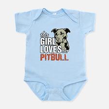 This Girl Loves Her Pitbull Body Suit