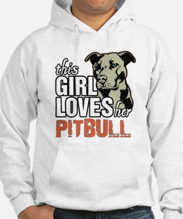 This Girl Loves Her Pitbull Jumper Hoody