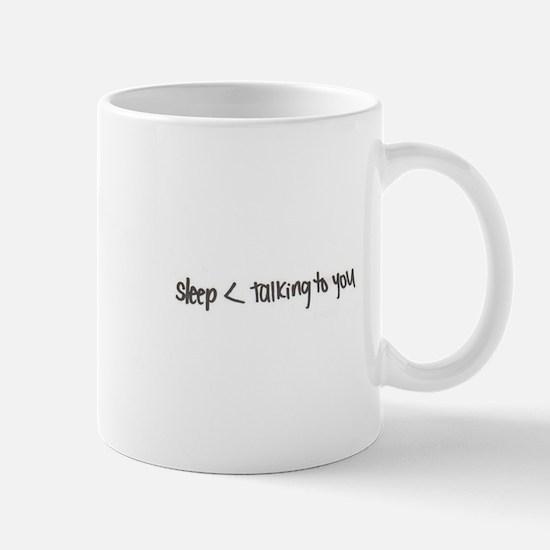 ...talking to you Mugs