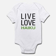 Live Love Haiku Infant Bodysuit