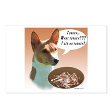 Basenji Turkey Postcards (Package of 8)