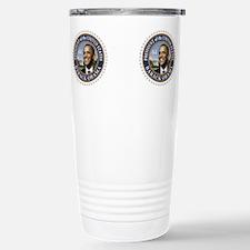 Pro obama blue star 2012 election Travel Mug