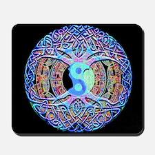 Mandala Yin Yang Harmony Mousepad