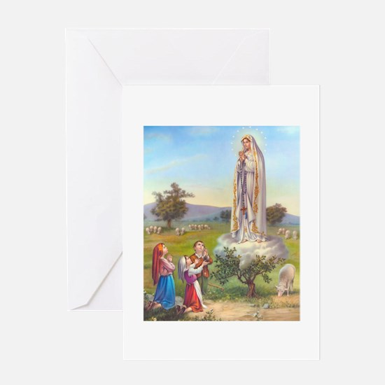 Our Lady of Fatima Greeting Cards