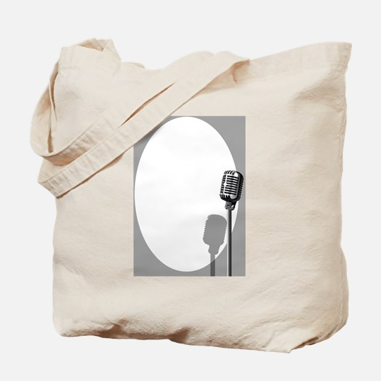 Unique Comedian microphone Tote Bag