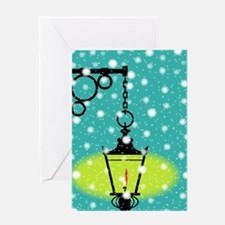 Unique Lamppost Greeting Card